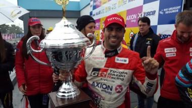 Ponce de León volvió a la victoria en el Top Race.