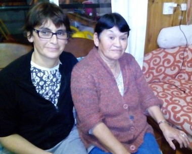 Parientes. Gabriela y su mamá María compartían casa en el Pietrobelli.