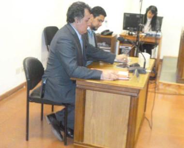 El fiscal Herminio Gonzáles Meneses es el impulsor de la denuncia.