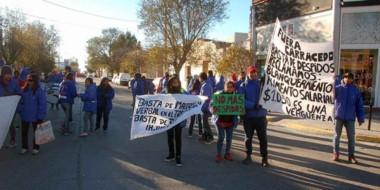 Protesta. La semana pasada los empleados protestaron y ahora hay un acuerdo para evitar conflictos.