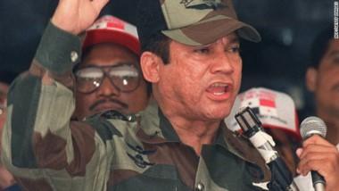 Noriega en los años 80 cuando era el patrón Centroamericano.