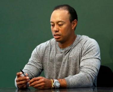 Tiger Woods estaba dormido sobre el volante de su auto  cuando fue detenido.