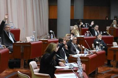 Ayer hubo unanimidad de los diputados para votar la Declaración que repudia el cierre de la fábrica.