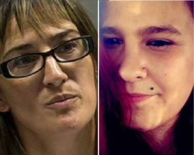 Jueza. González (izquierda) y su duro recuerdo de Jorgelina Domínguez, a quien evaluó como testigo.