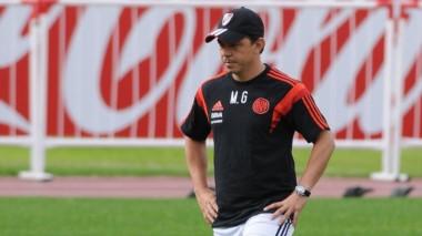 Sebastián Driussi fue exigido en el entrenamiento y será titular ante Racing.