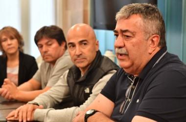 Mesa de definiciones. Los integrantes del espacio brindaron su apoyo para la candidatura de González.