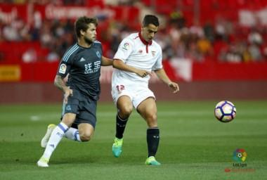 Sevilla y Real Sociedad quedaron a mano. El equipo de Rulli rescató un punto de visitante.