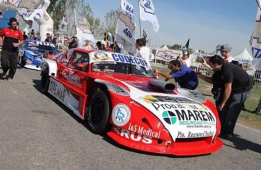 El piloto de Rawson Mario Valle intentará remontar el domingo en la final.