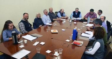 El encuentro mantenido el pasado viernes entre la Federación y los funcionarios para analizar la situación.