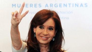CFK está en movimiento.