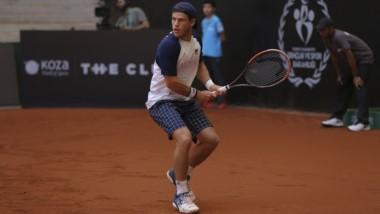 Schwartzman no pudo con Cilic y quedó afuera en semifinales del ATP de Estambul.