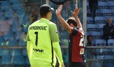 Con gol de Pandev, Genoa derrotó 1-0 al Inter.