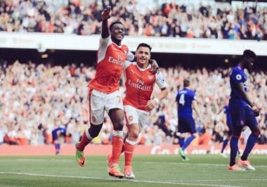 Tremenda victoria de Arsenal sobre Manchester United 2-0.
