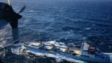 El buque en emergencia fue evacuado (foto gaceta marinera)
