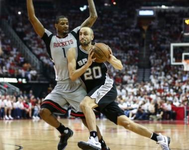 Ginóbili jugó 16 minutos, aportó 9 puntos y 2 asistencias en la derrota de los Spurs.