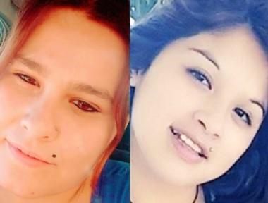 Jorgelina Domínguez Reyes, la presunta asesina, y Candela González, la víctima.