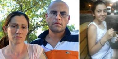 Monstruos. La madre de Florencia, que tildó de mentirosa a su hija y Lucas Gómez, el violador que se ahorcó en su celda. El ADN le dio la razón a la pequeña que nadie escuchó.