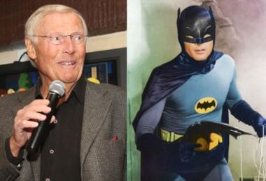 Adam West, el mítico Batman de los años 60.