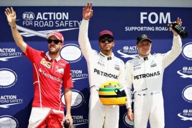 Lewis Hamilton logra con autoridad la pole en Canadá.