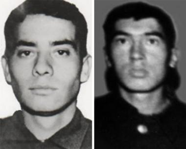 José Honorio Ortega y Ricardo Awstin, dos de los soldados caídos en Malvinas