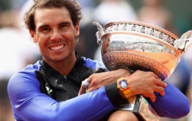 Nadal, el primer hombre en conseguir 10 trofeos del Roland Garros.