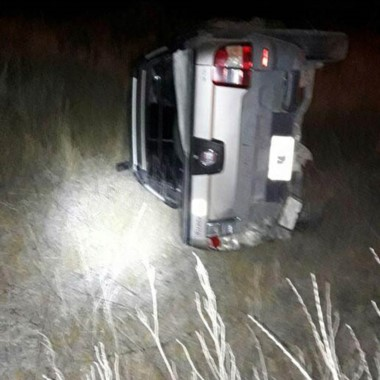 Uno de los vehículos protagonistas del brutal accidente de ayer.