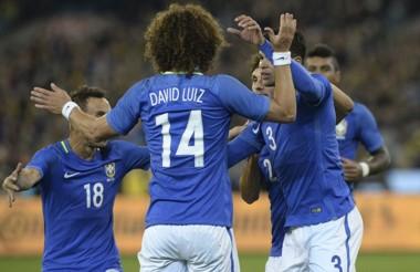 Con un gol a los 20 segundos, Brasil arrancó ganando desde los vestuarios.