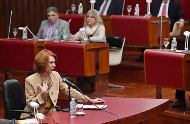 Explícita. Aunque en ningún momento se acostumbró al micrófono, García Blanco no eludió interrogantes.