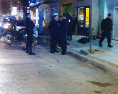 El sujeto fue detenido in fraganti, merced a la efectividad de la Sección Motos de la Policía del Chubut.