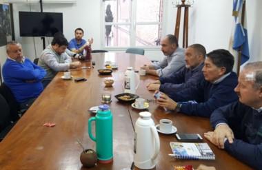 Ocupados. La cúpula de Servicoop coordinó los trabajos para que los servicios públicos no colapsen.