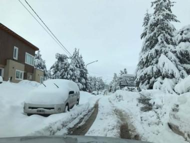 El Servicio Meteorológico advirtió que seguirá nevando viernes y sábado