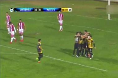 Instituto perdió con Santamarina y sigue cuarto a ocho puntos del segundo, Guillermo Brown.