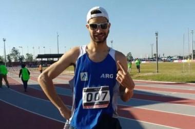 El entrerriano Federico Bruno logró el oro histórico en 1.500 metros y clasificó al Mundial.
