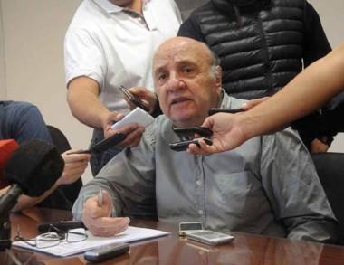 El ingeniero Osvaldo Sala, interventor del puerto.