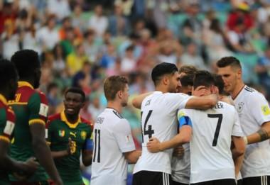 Alemania derrota a Camerún 3-1 y se medirá con México en semifinales de la Confederaciones.