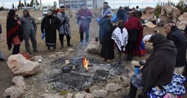 Celebración. Comunidades de pueblos originarios celebraron la llegada del Año Nuevo Mapuche.