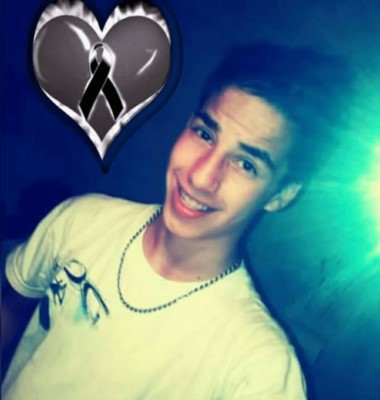 Fausto Palavecino tenía 16 años y toda una vida por delante. (Facebook).