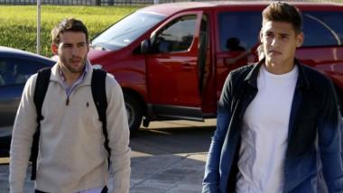 Mayada (izquierda) y Martínez Quarta (derecha), hicieron su descargo ante la Conmebol.