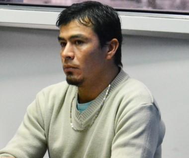 Lucio Martín Bustamante en el banquillo de los acusados. Le imputan tentativa de homicidio.