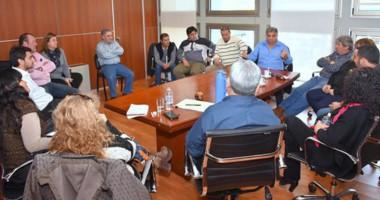 El encuentro con los gremios donde se debatió sobre el endeudamiento y la situación de la provincia.