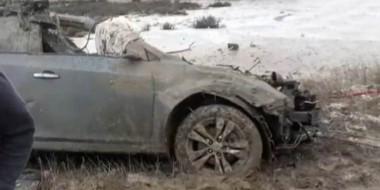 Así quedó el Chevrolet Cruze que se dirigía a Trelew ayer a la tarde. Quien conducía falleció en el acto.