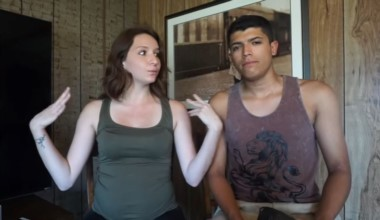 Pedro Ruiz, la víctima, junto a su novia, Monalisa Perez en uno de sus tantos vídeos de Youtube.