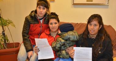 Brenda y Daiana Mesa fueron las mujeres agredidas y su compañera Fabiana Soto fue testigo presencial.
