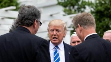 Trump abandona su responsabilidad con el cambio climático.