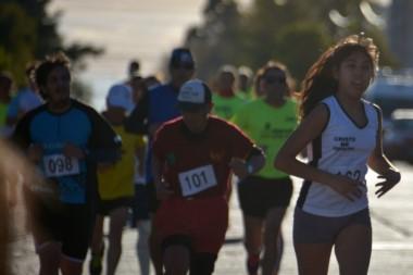 La prueba se corrió en 8 y 4 kms, y también hubo una corrida para los bomberos.