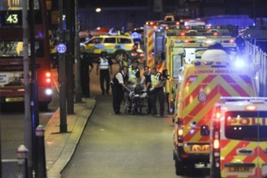 Siete muertos y 48 heridos en otro atentado terrorista en Londres en plena campaña electoral