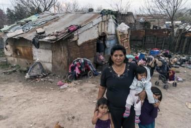 Uno de cada diez hogares argentinos relevados carece de los recursos necesarios para alimentar a todos sus integrantes. (Archivo).