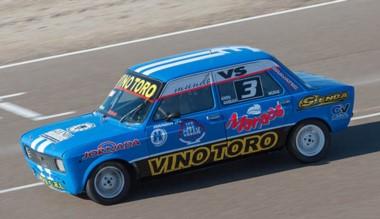 Pablo Arabia, protagonista del TP 1100. Está tercero en el  campeonato.
