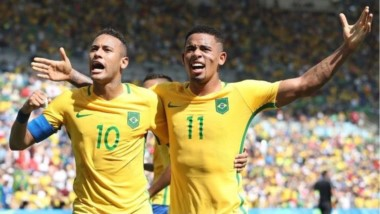 El ascendente delantero pasó de pintar las calles de Brasil en 2014 a estrella del Manchester City y titular en la selección de Brasil.
