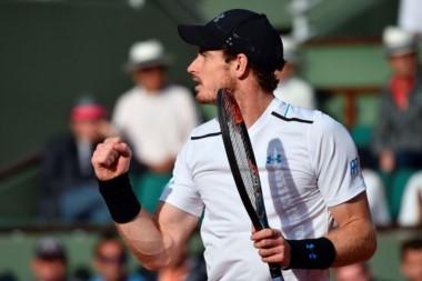 Andy Murray entra por cuarto año seguido a semifinales en Roland Garros.